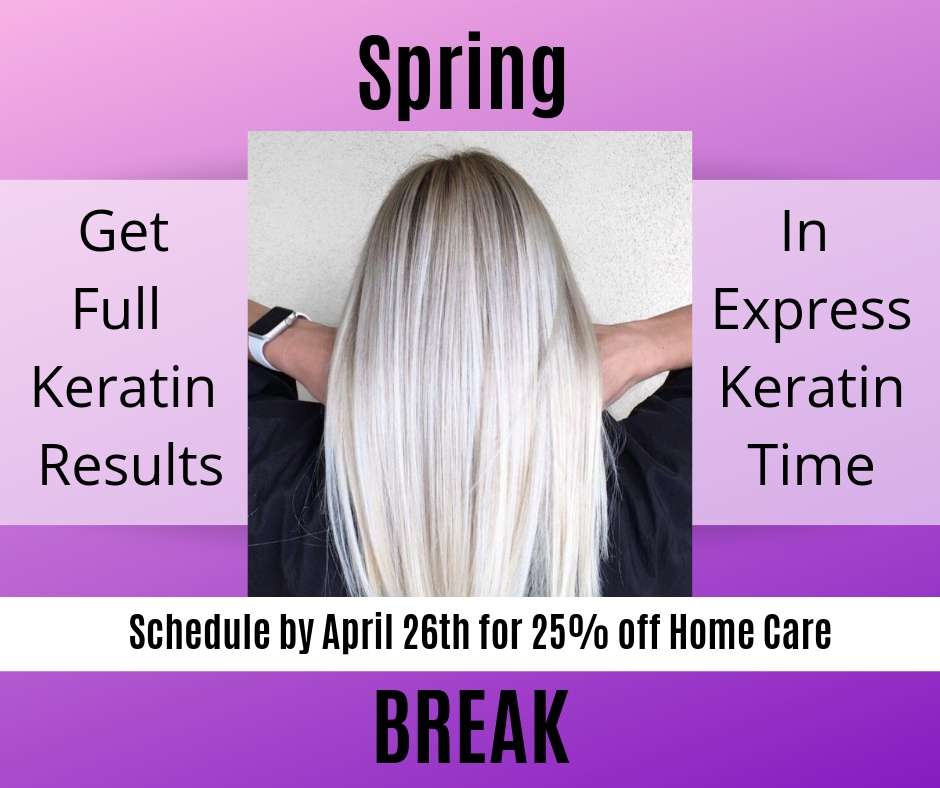 Book Keratin before April 26th
